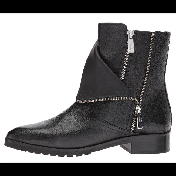 Micheal Kors Andi Leather Ankle Boot